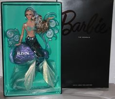 Barbie 2012 BFC The Mermaid Fantasy Collection Gold Label  #barbiecollector