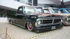 Explore Santana_TS& photos on Photobucket. F100 Truck, Ford Pickup Trucks, Lowered Trucks, Classic Ford Trucks, Ford F Series, Hot Rod Trucks, Cool Cars, Old School, Bike
