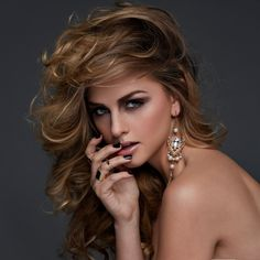 Model: Marina Laswick; pinner: George Pin