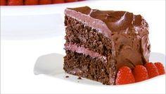 Giada De Laurentiis - Chocolate-Raspberry Layer Cake