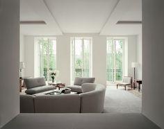 Appartement à Paris, décorateur Pierre Yovanovitch © Philippe Garcia