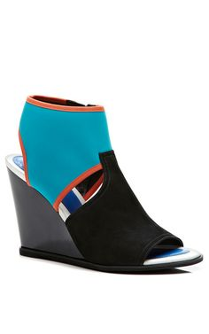 Venice Neoprene Wedge Sandals by Kenzo Shoes Now Available on Moda Operandi