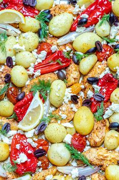 Clean Dinner Recipes, Clean Eating Dinner, Clean Eating Recipes, Healthy Eating, Healthy Recipes, Healthy Meals, Healthy Food, Salmon Tray Bake, Clean Chicken