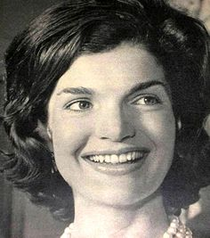 "First Lady ~Jacqueline Lee ""Jackie"" Bouvier Kennedy July 28, 1929 – May 19, 1994),[1] was the widow of the 35th President of the United States, John F. Kennedy, and First Lady of the United States during his presidency from 1961 until his assassination in 1963.❤♛❤♛❤♛❤ http://en.wikipedia.org/wiki/Jacqueline_Kennedy_Onassis"