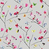 Decorative Wallpaper, Wallpaper, Décor B&Q Butterflies