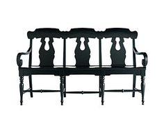 karch slat back bench 722968 Martha Stewart Kark Chairs