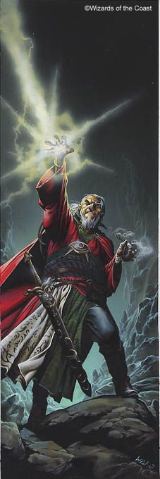 Any Ed Greenwood book, especially those that involve: Elminster