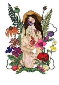 Sole Illustrator // En Vie Mag - Anna Bours | Graphic Artist