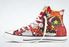 DC Comics x Converse Chuck Taylor All Star Hi Collection is a must-have for  any super-hero fanatic this season. 0f8236b8f
