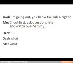 I would totally answer my parents with this!