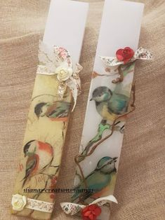 Floral Tie, Gift Wrapping, Easter, Candles, Handmade, Crafts, Collagen, Vintage, Gift Wrapping Paper