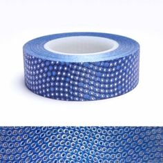 MASKING TAPE GLITTER POINTS BLEU