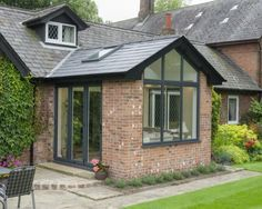 Replace your Conservatory Roof with a Solid Tiled Roof and transform your Conservatory into a comfortable living space. Now available throughout Hampshire. Garage Extension, House Extension Plans, Cottage Extension, House Extension Design, Glass Extension, Extension Ideas, Extension Google, Side Extension, Orangerie Extension