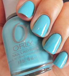 """""""Frisky"""" by Orly, current color - I love it! <3"""