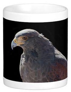 Harris Hawk Coffee Mug #msqrd2 Photo Credit: Michael Moriarty Photography  Available here: http://www.zazzle.com/harris_hawk_mugs-168704816313896085