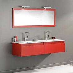 Découvrez le meuble de salle de bain Delpha Studio S60D un ensemble