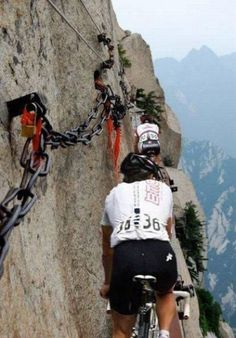 Mountain Biking (Click on this link to see some totally insane scenic photos / pathways. Unbelievable!!!!. M.)