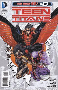 Teini Titans sarja kuva suku puoli