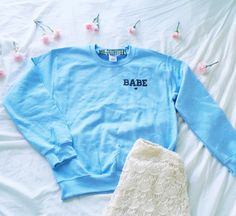 Babe Crewneck Sweatshirt by MXLoutfitters on Etsy