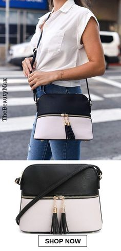 This small comfortable crossbody bag(black-white makes the perfect gift for christmas, valentines, birthdays, anniversaries, etc. This is truly the one gift that will be enjoyed when going out shopping, travel, work, school/college or vacations. Features: Stylish and functional, easy to maintain, trendy and fashionable, medium and lightweight.. CLICK TO FIND OUT MORE Crossbody Bags For Travel, Crossbody Messenger Bag, Leather Laptop Bag, Leather Crossbody Bag, Cool Messenger Bags, Cross Body Satchel, Vintage Backpacks, Cheap Bags, Black Cross Body Bag
