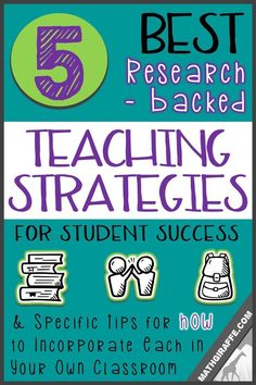 Teaching Tips/ Teaching Strategy: Which teaching strategies should you actually bother with? - Research Based Practices for Student Success. Teaching Methods, Teaching Strategies, Teaching Math, Teaching Ideas, Teaching Resources, Avid Strategies, Teaching Secondary, Teaching Quotes, Learning Techniques