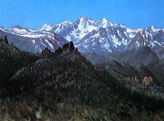 The Athenaeum - Sierra Nevada (Albert Bierstadt - )