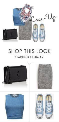 """""""Untitled #4216"""" by mariaisabel701 ❤ liked on Polyvore featuring Yves Saint Laurent, J.Crew and The Artizant"""