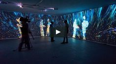 Quantum Space. Interactive video room/installation. Life Zone exhibition at M'ARS Gallery, Moscow. 26.02.15 - 15.04.15 http://kuflex.com Cover photo by…