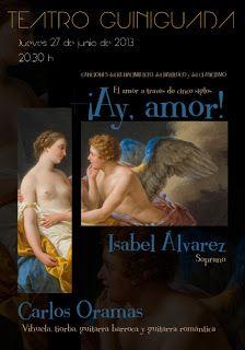 Noche y Día Gran Canaria: Música - 27/06: 'Ay amor', con Carlos Oramas en el Teatro Guiniguada