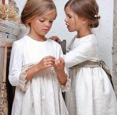Para las futuras casaderas... Ideas de vestidos para esos pequeños pajes que os acompañan hasta el altar y hasta el hombre de vuestra vida.