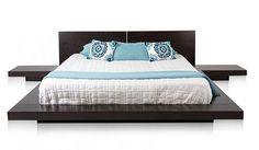 low modern bed blissfule