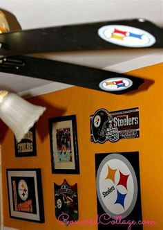Image result for Pittsburgh Steelers Room Painting Ideas