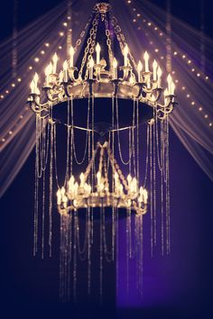 We are obsessed with these striking chandeliers! Beautiful and eye-catching.