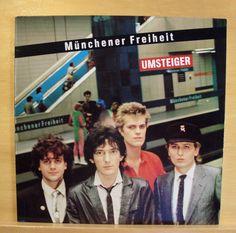 MÜNCHNER FREIHEIT - Umsteiger - mint minus - Vinyl LP - Top RARE