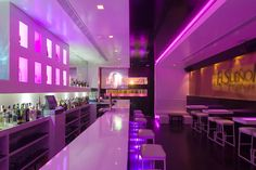 Modern lounge bar - Interior design lounge bar by iván cotado