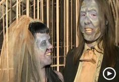 Video still of a zombie wedding seriously?? ugh