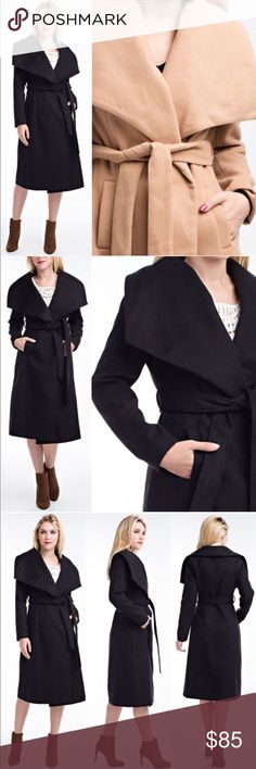 ADIELLE chic trench coat - TAUPE Super comfy & chic overcoat with self - tie belt.  PLS SEE PIC 4 FOR ACTUAL COLOR FOR TAUPEMaterial content: Fabric 80% Polyester & 20% Rayon  NO TRADE  PRICE FIRM Bellanblue Jackets & Coats
