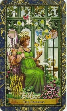 III. The Empress - Wizards Tarot authored by John Blumen, Corrine Kenner
