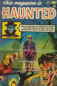 Comic Book Cover For This Magazine Is Haunted v1 #2