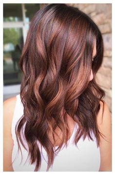 Hair Color Auburn, Red Hair Color, Brown Auburn Hair, Fall Hair Colors, Brown Hair Colors, Hot Hair Colors, Red Balayage Hair, Dark Red Balayage, Red Hair With Lowlights