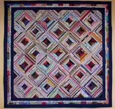 Selvage Edge Quilt by Lynne Demeter