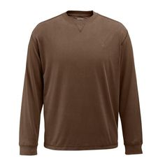 Wolverine Clothing Benton II Men's W1204180 202 Bison Long Sleeve Tee Shirt