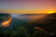 Austrália - Vale Jamison, Cataratas Wentworth, Cordilheira Azul