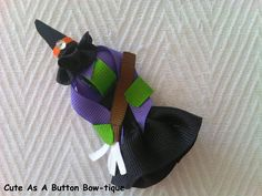 Witch+Ribbon+Sculpture+by+JoHiracheta+on+Etsy,+$7.25