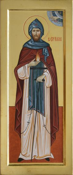 Ephraim of Nea Makri Orthodox icon Byzantine Icons, Orthodox Icons, Christian Art, Christianity, Religion, May 5, Painting, Website, Santos