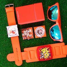Dzisiaj na pomarańczowo ;-) S.T.A.M.P.S.,  okulary Rookie. Oraz paczka toys4smokers a wszystko na www.timeto.com.pl