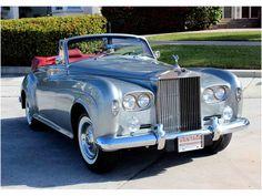 Vintage Cars Classic 1963 Rolls-Royce Silver Cloud III H. Rolls Royce Vintage, Classic Rolls Royce, Bentley Rolls Royce, Rolls Royce Cars, Cars Vintage, Retro Cars, Voiture Rolls Royce, Lamborghini, Ferrari