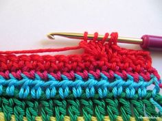 Teil 5 Reihe 7 crochet along - schoenstricken.de