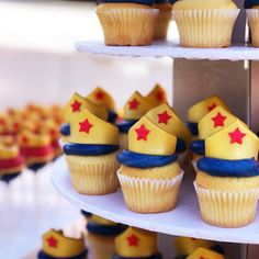 How awesome are these @wonderwomanfilm cupcakes?! #wonderwoman #wbsponsored