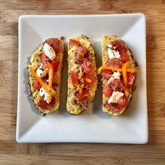 Bruschetta - my homemade bruschettas with tuna, vegetable, meat and cheese on croatian way.